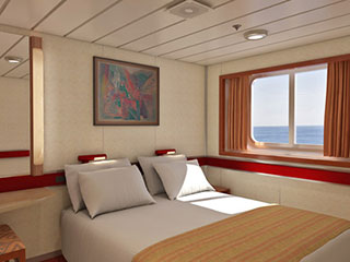 Carnival Cruise Lines 6a Oceanview Stateroom