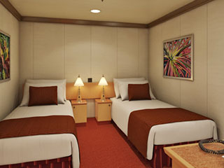 Carnival Cruise Lines 4f Interior Stateroom